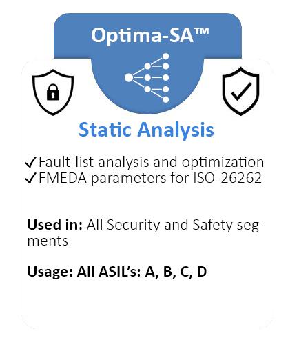 Optima-SA Static Analysis