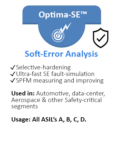 Optima-SE Soft-Error Analysis